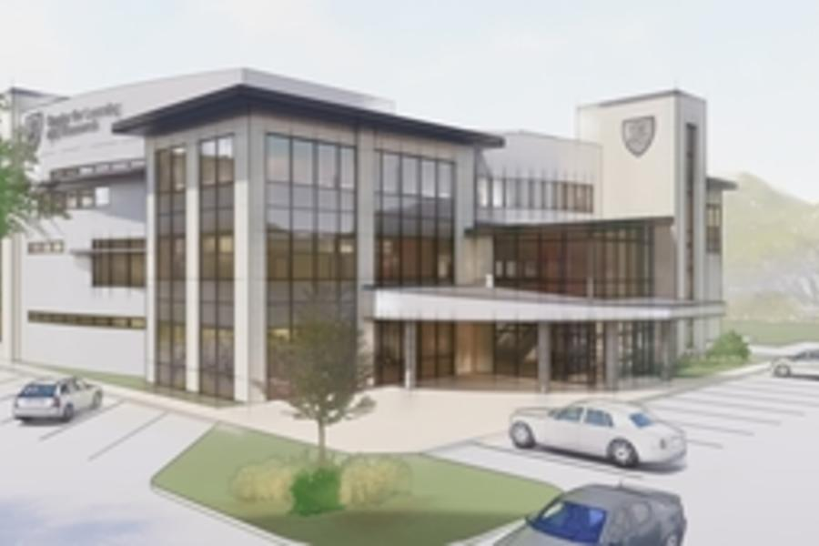 Rendering of the future CAMC Center for Learning and Research